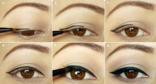 Карие глаза: создаем легкий макияж