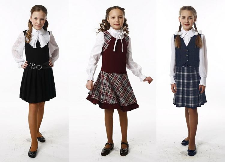 Особенности школьной моды для девочек