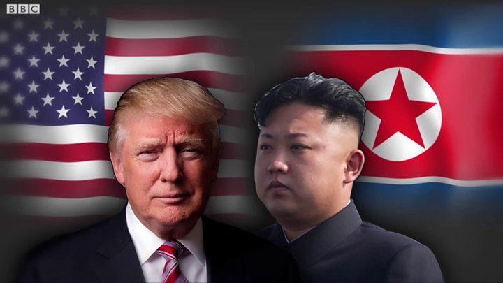 Ядерный удар КНДР по США. Трамп заявляет о мощи и огне превентивного удара