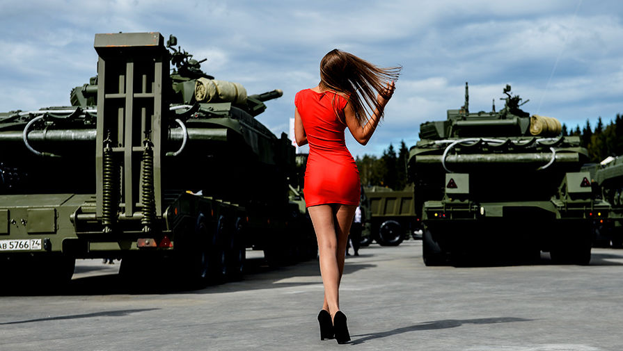 Открылся армейский форум «Армия-2017». Парк «Патриот»