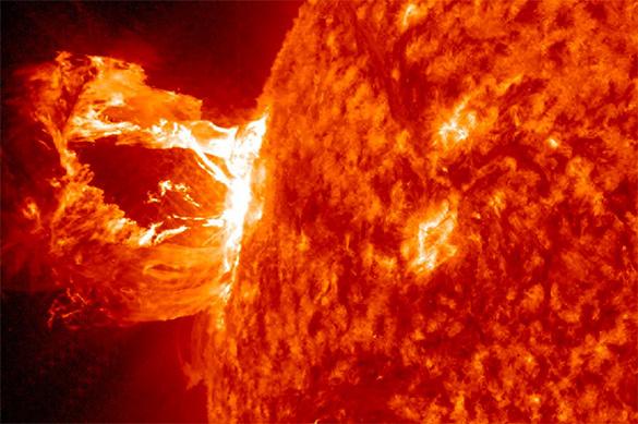 Вспышки на солнце сегодня смотреть онлайн. Влияние на организм человека