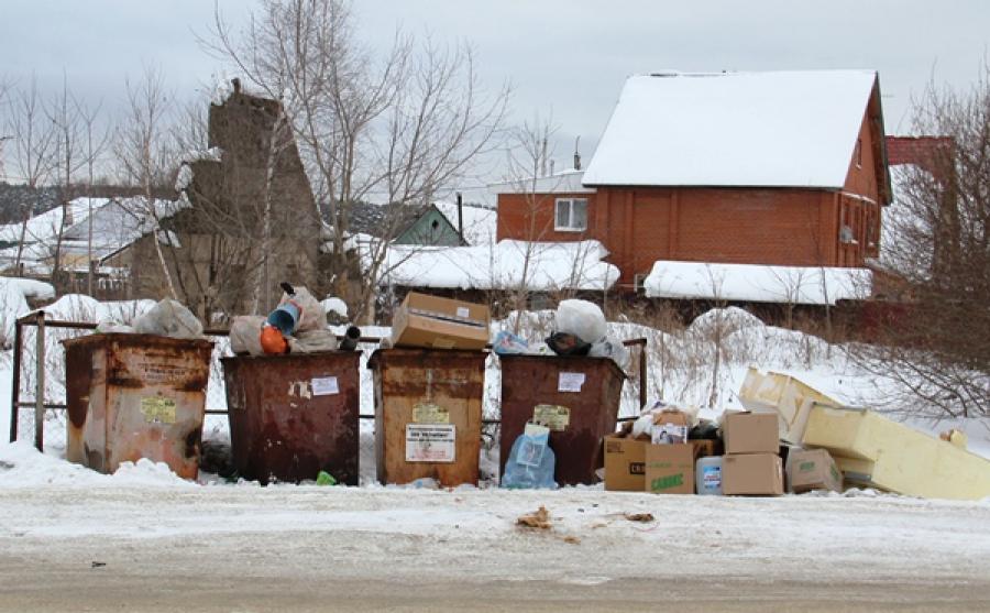 Жителей частных домов обяжут платить за вывоз мусора