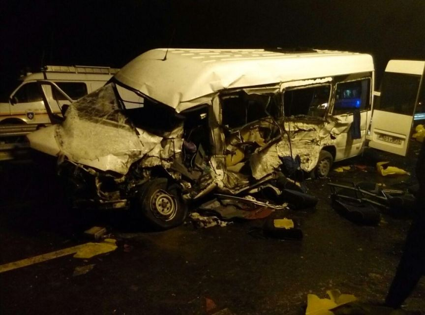 Страшная авария в Калининградской области. Смотреть видео