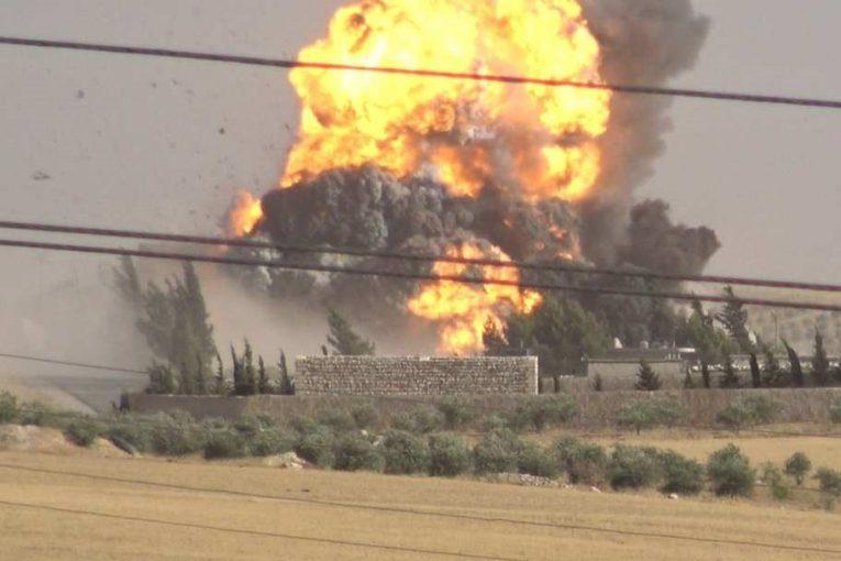 Минометный обстрел авиабазы Хмеймим в Сирии