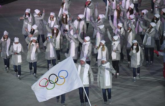 Смотреть видео открытия олимпийских игр-2018. Прохождение нашей команды
