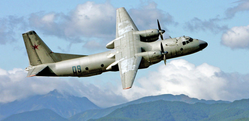 Российский транспортный самолет Ан-26 потерпел крушение в Сирии, 32 человека погибли