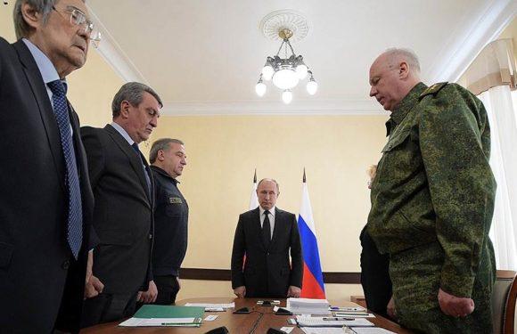 Путин в Кемерово. Мероприятия по пожару в ТРЦ «Зимняя вишня»