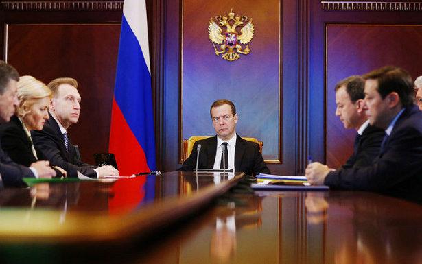 Список нового состава правительства премьера Медведева