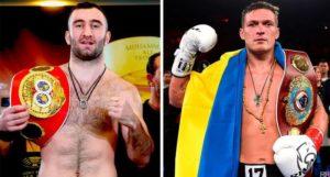 Сегодня 21 июля Мурат Гассиев и Александр Усик проведут чемпионский бой в первом тяжелом весе