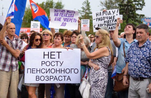 Путин в курсе митингов и акций против повышения пенсионного возраста