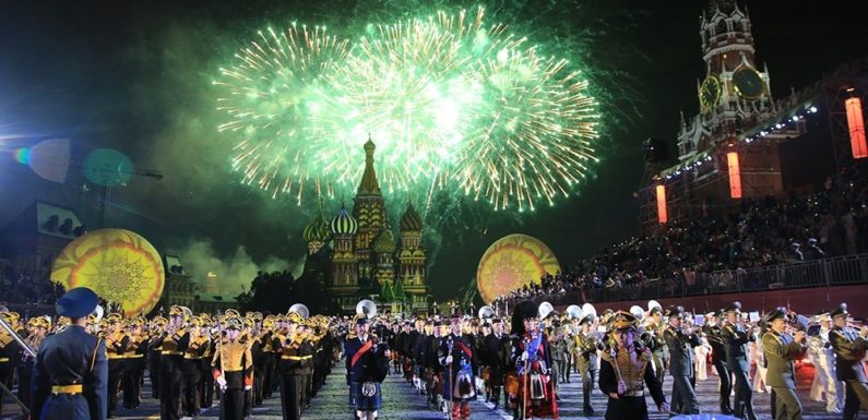 В Москве можно сходить на фестиваль Спасская Башня бесплатно с детьми