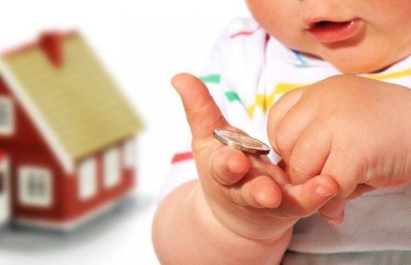Выплаты на пособия на первого, второго ребенка составит 48,5 млрд рублей в 2019 г.