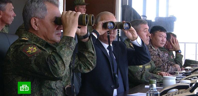 Военные в ходе маневров «Восток-2018» применили «ракеты-невидимки»