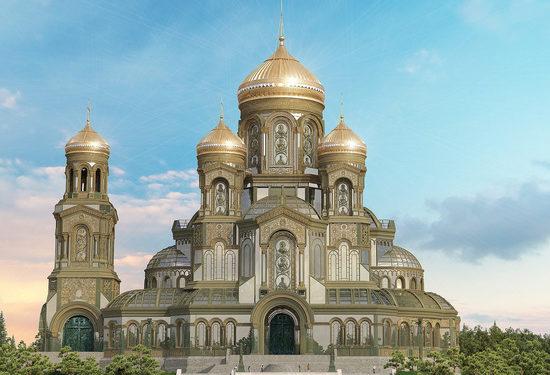 Шойгу презентовал новый главный храм Вооруженных сил России