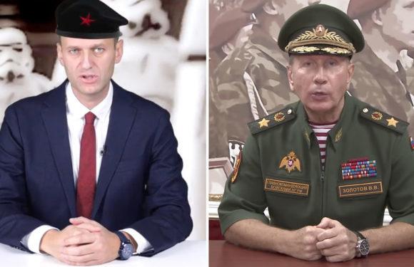 Ответ Золотова Навальному. Смотреть видео