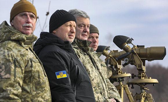 Введение военного положения на Украине. Последние новости