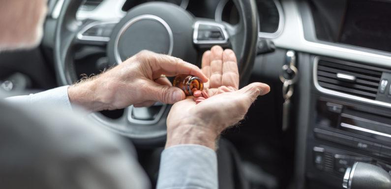 После каких лекарств нельзя садиться за руль. Полный список