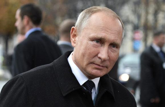 Путин в Париже и знаменитое рукопожатие. Полный видеоотчет