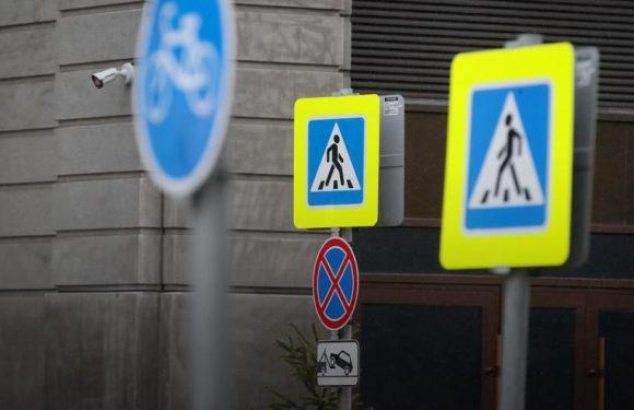 Дорожные знаки уменьшат по всей стране в два раза